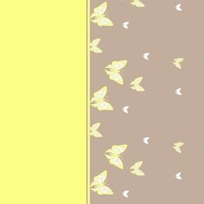 Butterfly_border_khaki_bright yellow