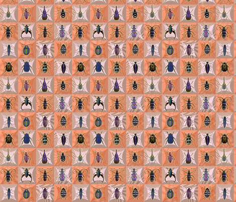 drees_insects_cloth_sym fabric by dedree on Spoonflower - custom fabric