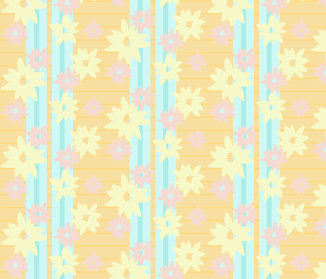Flower Shower fabric by beenishz on Spoonflower - custom fabric