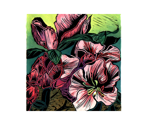Azalea fabric by sarah_nussbaumer on Spoonflower - custom fabric
