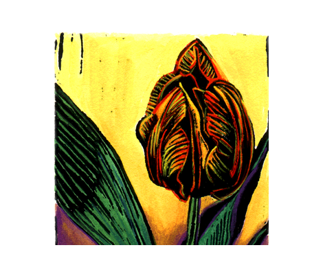 Tulip fabric by sarah_nussbaumer on Spoonflower - custom fabric
