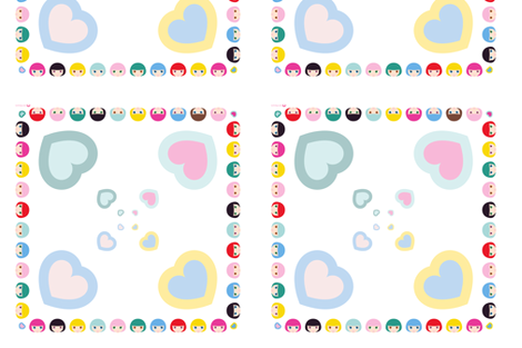 B-Doll© foulard fabric by christinopia on Spoonflower - custom fabric