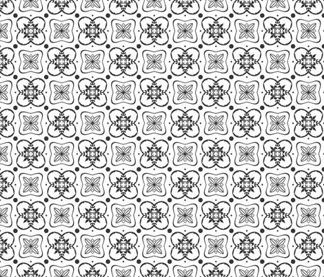 Medieval Modern fabric by poetryqn on Spoonflower - custom fabric
