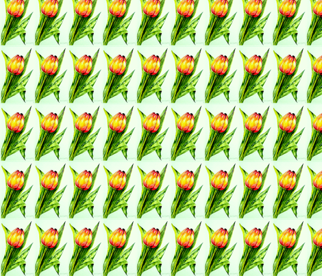 tulips fabric by lamujo on Spoonflower - custom fabric