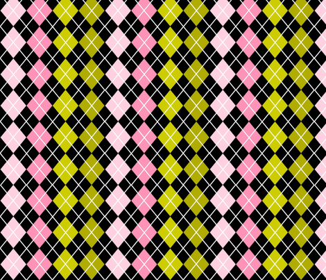 For the love of argyle for girls fabric by cutiepoops on Spoonflower - custom fabric