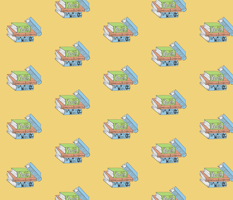 Read2Me fabric by kittywrightwood on Spoonflower - custom fabric