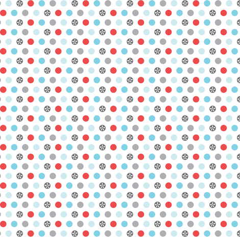 Mini Dot  fabric by heatherdutton on Spoonflower - custom fabric