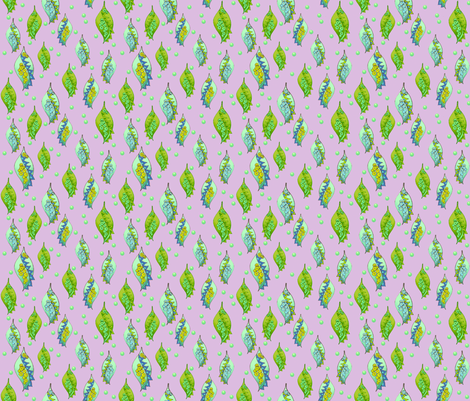 Nature Inspired 3 fabric by findevogel on Spoonflower - custom fabric