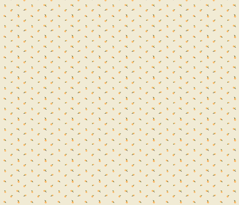 Cherry Crumbs, Orange Tan fabric by natalie on Spoonflower - custom fabric