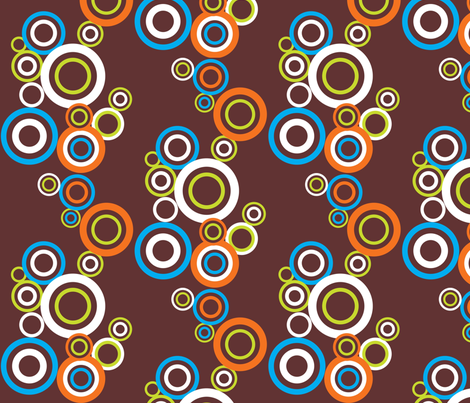 Circles Crazy fabric by malien00 on Spoonflower - custom fabric