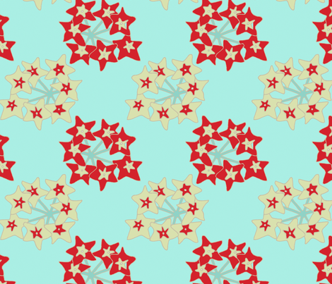chinese_star fabric by holli_zollinger on Spoonflower - custom fabric