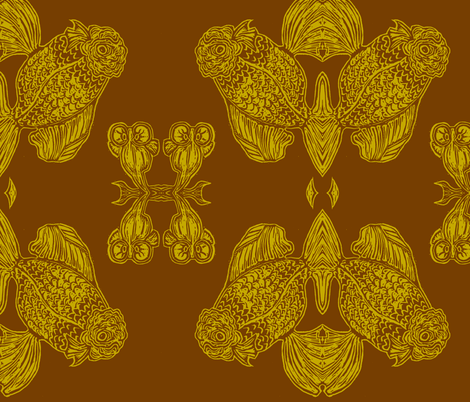 goldie  fabric by emilyvalenza on Spoonflower - custom fabric