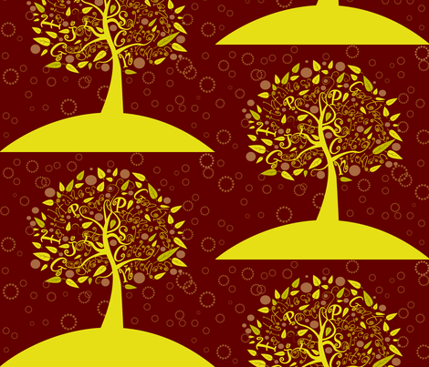 FruitTree fabric by twobloom on Spoonflower - custom fabric