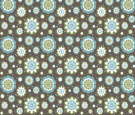 Snow York fabric by beenishz on Spoonflower - custom fabric