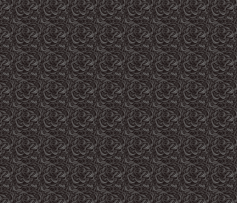 Dark Wave fabric by leighr on Spoonflower - custom fabric