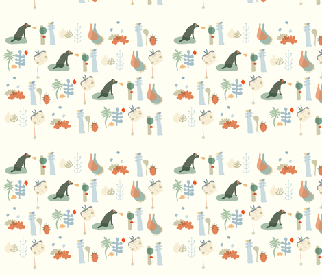 The circus fabric by yaelfran on Spoonflower - custom fabric