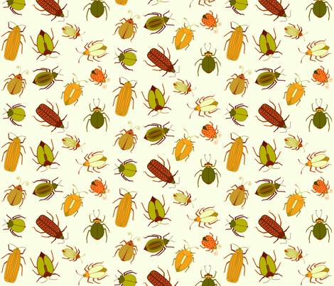 fabricbeetles fabric by matida on Spoonflower - custom fabric