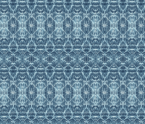 blue-leaf-blade_350 fabric by wren_leyland on Spoonflower - custom fabric