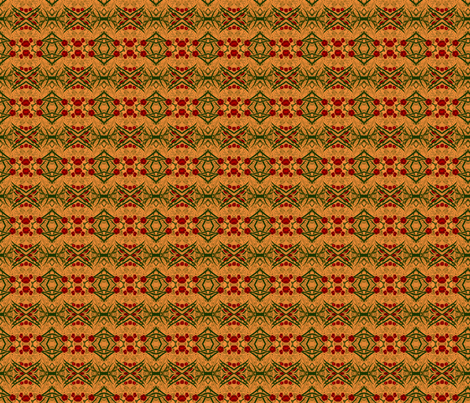 primrose-orange-350 fabric by wren_leyland on Spoonflower - custom fabric