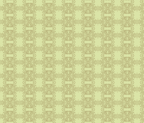 lemon chiffon frost-300 fabric by wren_leyland on Spoonflower - custom fabric