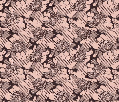 Bloomy Screen fabric by beenishz on Spoonflower - custom fabric