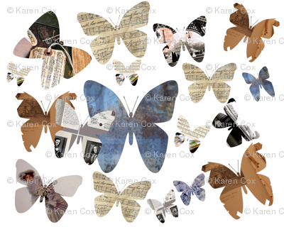 Antique Butterflies