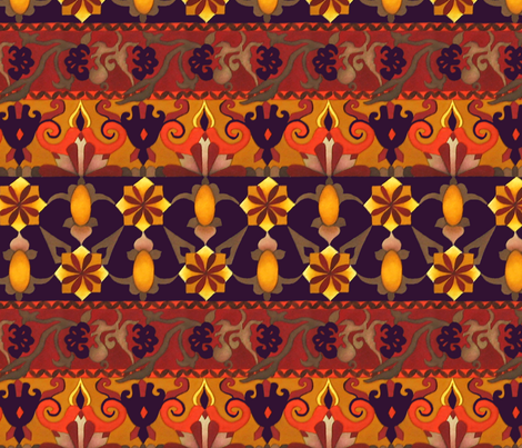 Arabian Night fabric by beenishz on Spoonflower - custom fabric