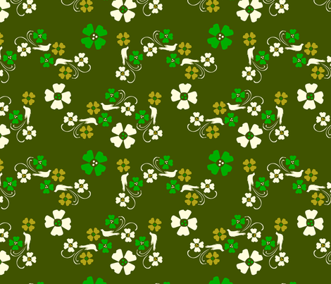 In the Grass fabric by royalforest on Spoonflower - custom fabric