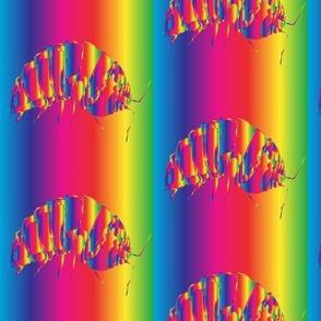 Rainbow Rollie Pollie Bugs