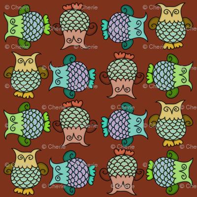 Topsy-Turvy Owls