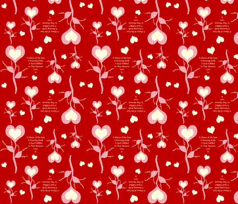 Love Is fabric by cksstudio80 on Spoonflower - custom fabric