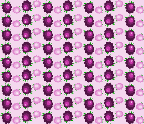 blackberry jam fabric by rose'n'thorn on Spoonflower - custom fabric