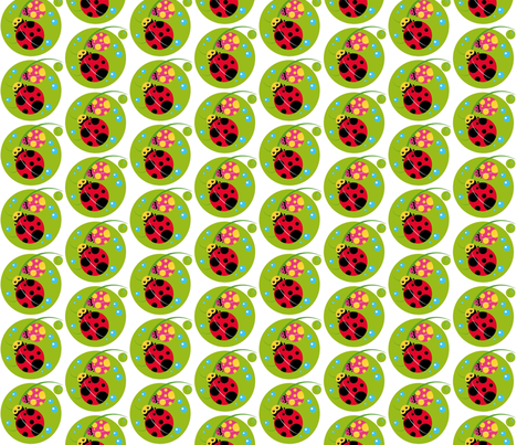 Spotted fabric by shugar on Spoonflower - custom fabric
