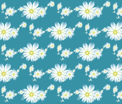 in lines as clear- small fabric by winter on Spoonflower - custom fabric