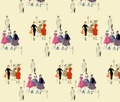 Fashion Forward fabric by nalo_hopkinson on Spoonflower - custom fabric