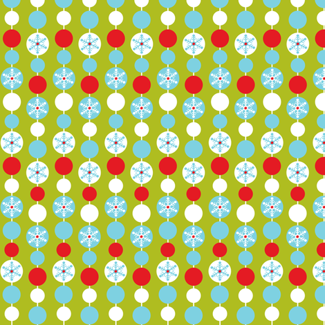 Garland fabric by heatherdutton on Spoonflower - custom fabric