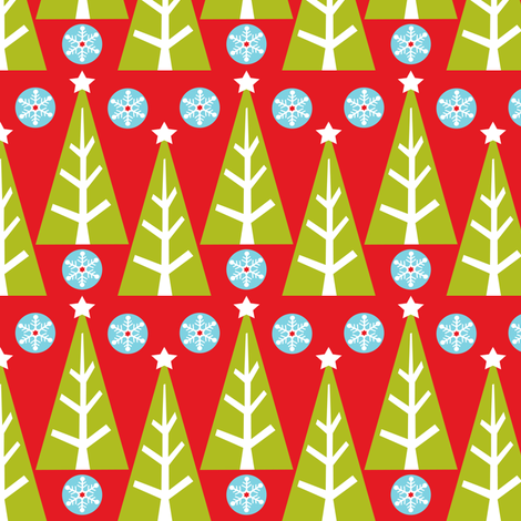 Tree Farm fabric by heatherdutton on Spoonflower - custom fabric
