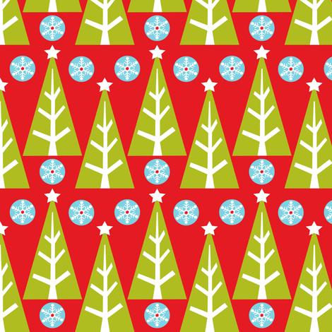 Tree Farm fabric by heatherdutton on Spoonflower - custom fabric
