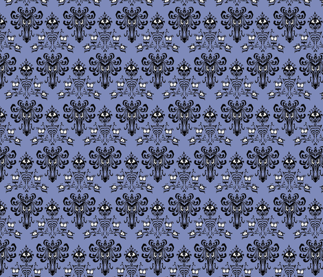 Haunted Mansion fabric by knittychick on Spoonflower - custom fabric