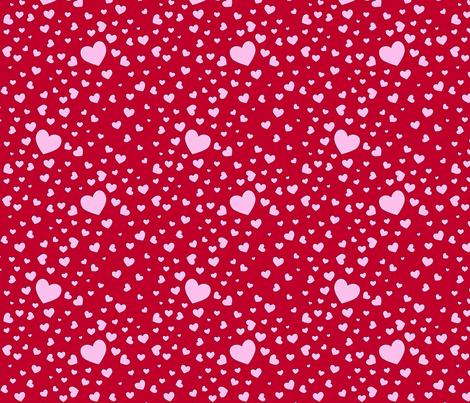 packedhearts fabric by shirlene on Spoonflower - custom fabric