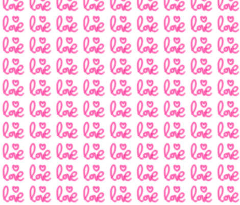 love_neon fabric by corentine on Spoonflower - custom fabric
