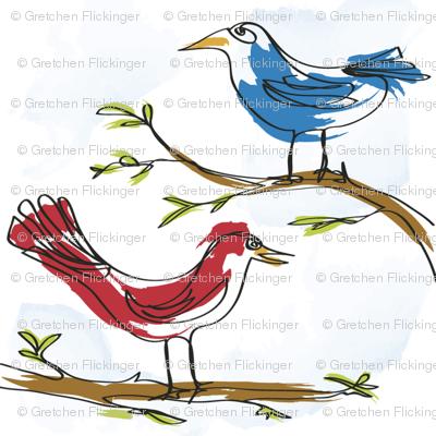 Silly Birds!