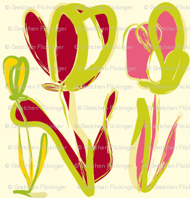 Red & Pink Tulips