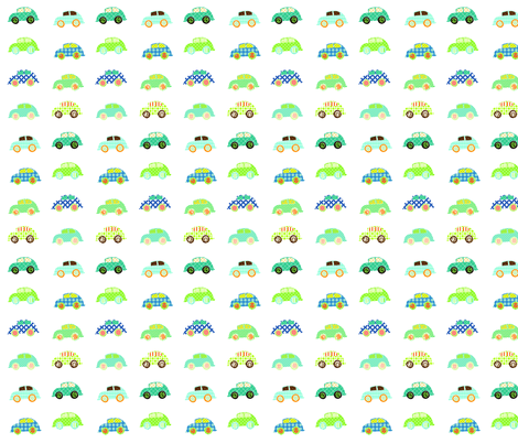 custom_cars fabric by petunias on Spoonflower - custom fabric
