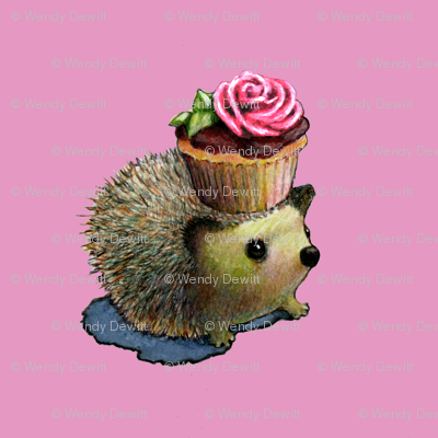 Cupcake Hedgehog