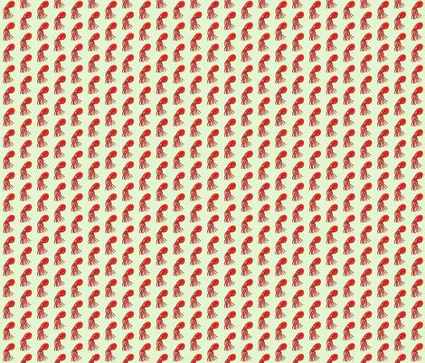 Miss Octo fabric by taraput on Spoonflower - custom fabric