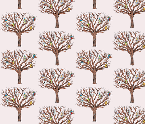 Tree fabric by taraput on Spoonflower - custom fabric