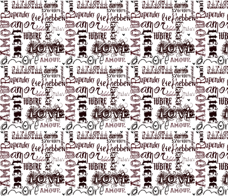 So Much Love fabric by klynnmorton on Spoonflower - custom fabric