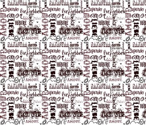 So Much Love fabric by klynnmorton on Spoonflower - custom fabric