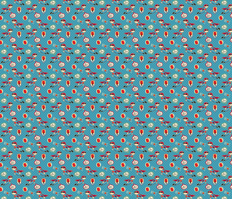 Supahero MINI fabric by hamburgerliebe on Spoonflower - custom fabric